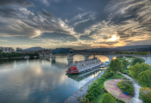 River View from the Downtown Chattanooga collection by Jeremy Screws