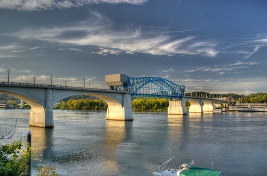 Market Street Bridge from the Downtown Chattanooga collection by Jeremy Screws