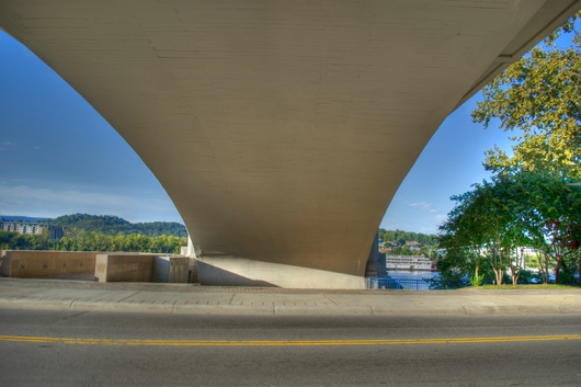 Under the Bridge 2 from the Downtown Chattanooga collection by Jeremy Screws