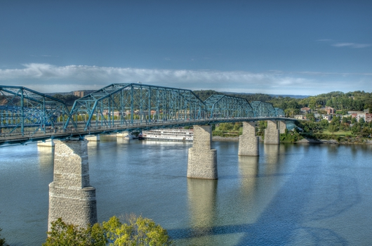 Walnut Street Bridge from the Downtown Chattanooga collection by Jeremy Screws