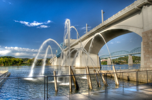Ross Landing Fountains 2 from the Downtown Chattanooga collection by Jeremy Screws