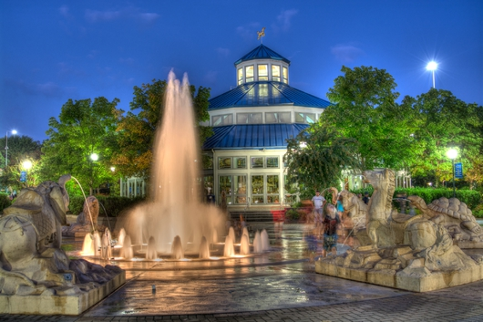 Coolidge Park HDR from the Downtown Chattanooga collection by Jeremy Screws