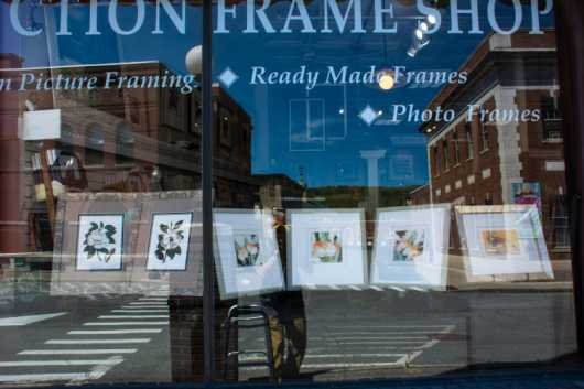 Frame Store Window from the White River Junction collection by jndphoto