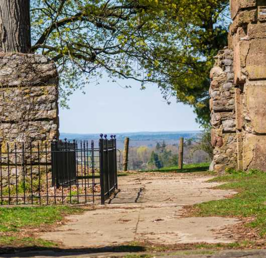 Path at Bancroft Castle from the Bancroft Castle Groton MA collection by jndphoto