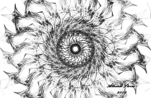 """""""Eye Soar"""" from the Athena Storm Eye Art collection by Athena Storm"""