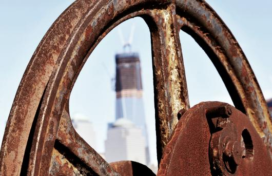 Freedom Wheel from the Buildings and Architecture collection by Sonny Banks Photography