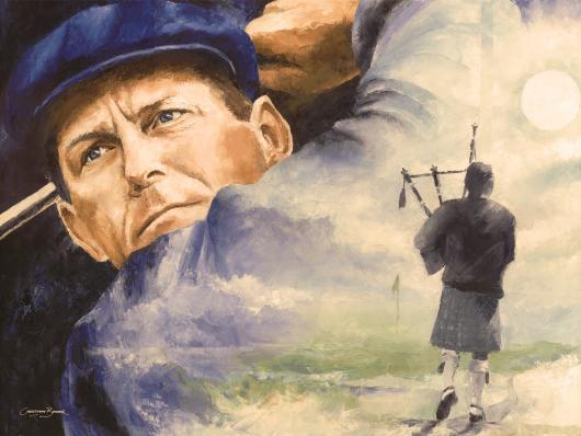Payne Stewart Art Prints from the Sports collection by Christiaan Bekker