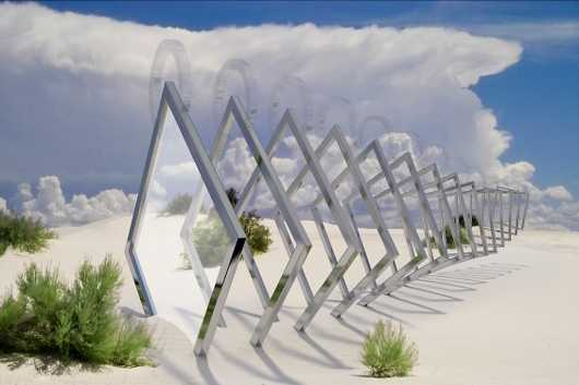White Sands Gateway from the CGI Work collection by studioMiguel