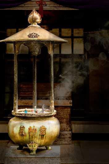 Holy Smoke Senso-ji Temple Japan - 2015 Arizona State Fair Division 1st Place from the Travel Outside the US collection by Ladee K Rickard