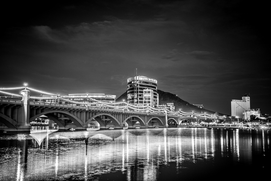 Tempe from the Black and White collection by Rachel Houghton