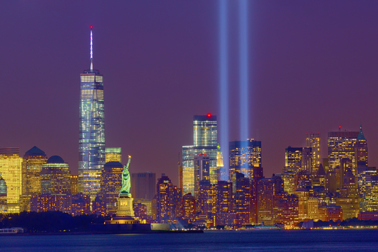 Tribute in Light 2014 crop from the Tribute in Light 2014 collection by Albert Liguori III