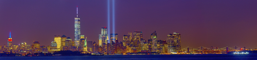 Tribute in Light 2014 Super Panaramic from the Tribute in Light 2014 collection by Albert Liguori III