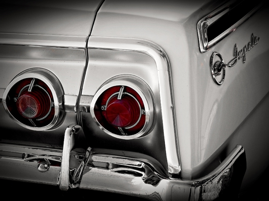 Classic Impala from the Classic Vehicle Collection collection by Tom Perlongo Photography