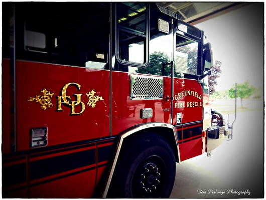 On Alert from the Fire Fighting Vehicle Collection collection by Tom Perlongo Photography