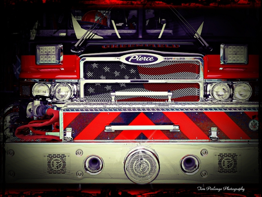 Obligation from the Fire Fighting Vehicle Collection collection by Tom Perlongo Photography