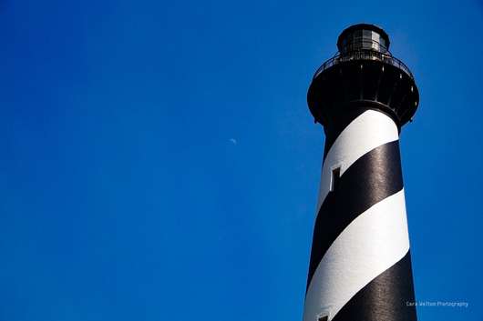 Hatteras Lighthouse from the The Outer Banks of North Carolina collection by Cara Walton