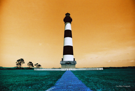 Bodie Light LomoChrome Turquoise 35mm from the The Outer Banks of North Carolina collection by Cara Walton