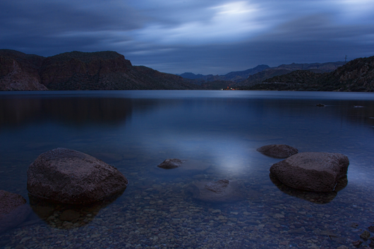 Morning Calm from the Landscapes collection by Richard Milligan