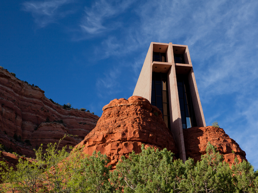 Chapel of the Holy Cross Sedona Arizona from the Desert Southwest collection by Art4Artists
