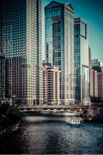 Chicago River from the Cities collection by Alan Ignatowski
