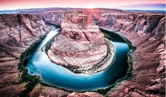 Horseshoe Bend from the Desert collection by Alan Ignatowski