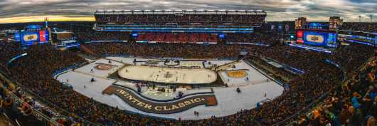 2016 Winter Classic Panorama from the Panoramas collection by TJ Walsh Photography