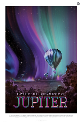 JUPITER from NASA JPL Poster Series from the NASA JPL collection by Art4Artists