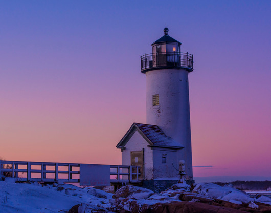 Annisquam Light Cotton Candy from the Lighthouses collection by TJ Walsh Photography