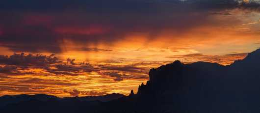 Superstition Sunrise from the Landscapes collection by Richard Milligan