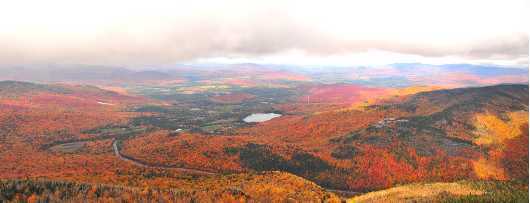 Fall View from Cascade Mountain from the Chris Priedemann Photography collection by Chris Priedemann