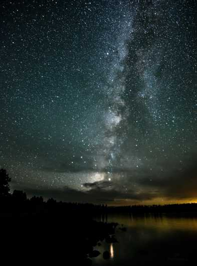 Milky Way. Greer, Arizona.  from the Gallery Photos  collection by Andy Rivera
