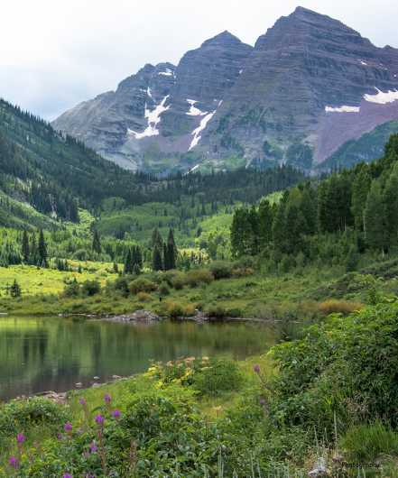 Maroon Bells  from the Gallery Photos  collection by Andy Rivera