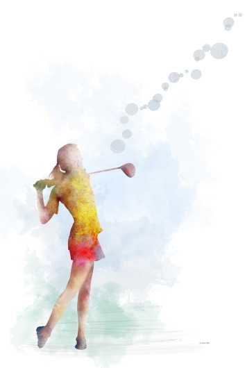 golf_player_2.jpg from the Sports collection by Marlene Watson Art