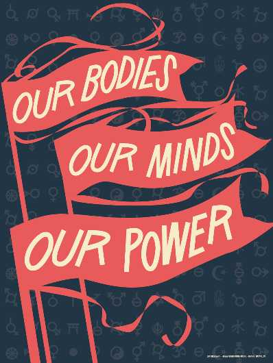 Our Bodies Our Minds from the Amplifier Project collection by Shepard Fairey