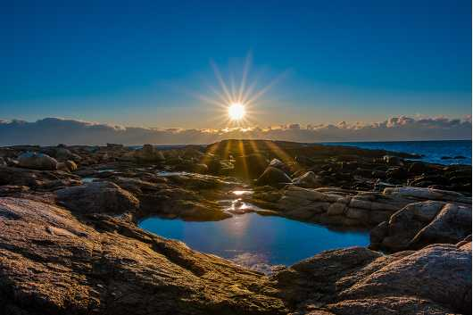 Eastern Point Rocks from the Sunrise/Sunset Photos collection by TJ Walsh Photography