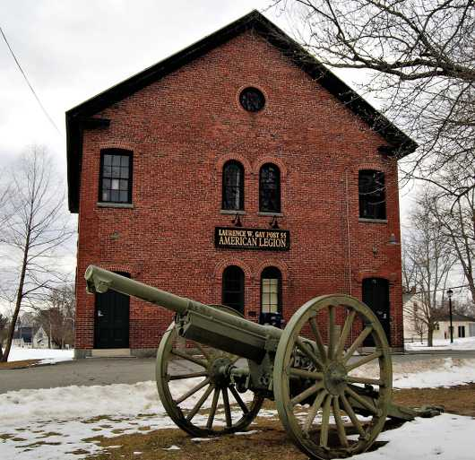 Cannon and Building from the New England Architecture  collection by jndphoto