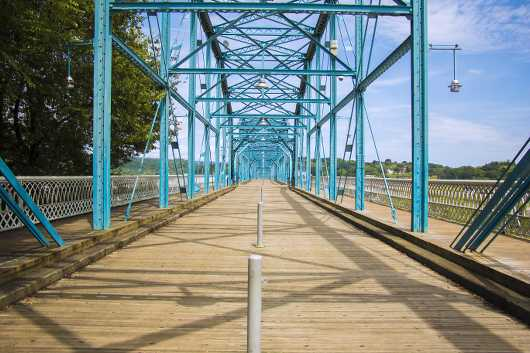 Pedestrian Bridge from the Bridges collection by NS Photography