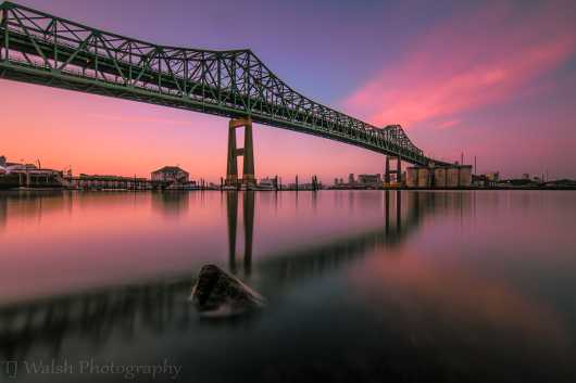 pink tobin sunrise.jpg from the Sunrise/Sunset Photos collection by TJ Walsh Photography