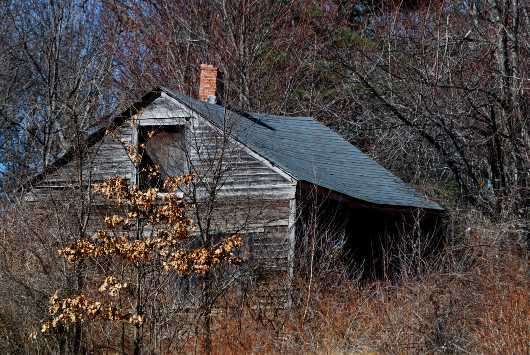 Old abandoned Cabin  from the Barns collection by jndphoto